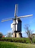 [ Windmill. An old windmill at Hondschoote (Northern France) - 12th century ]